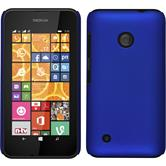 Hardcase Lumia 530 gummiert blau