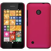 Hardcase for Nokia Lumia 530 rubberized hot pink