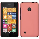Hardcase for Nokia Lumia 530 rubberized pink