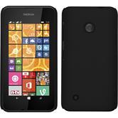 Hardcase Lumia 530 gummiert schwarz