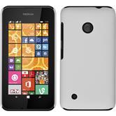 Hardcase Lumia 530 gummiert weiß