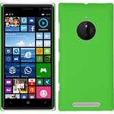 Hardcase Nokia Lumia 830 gummiert grün + 2 Schutzfolien