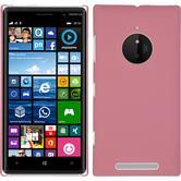 Hardcase Lumia 830 gummiert rosa
