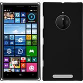 Hardcase Lumia 830 gummiert schwarz