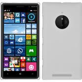 Hardcase für Nokia Lumia 830 gummiert weiß