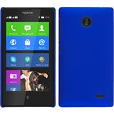Hardcase for Nokia X / X+ rubberized blue