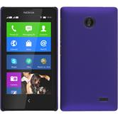 Hardcase for Nokia X / X+ rubberized purple