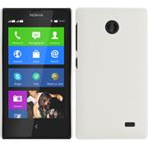 Hardcase for Nokia X / X+ rubberized white