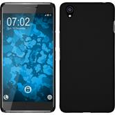 Hardcase OnePlus X gummiert schwarz
