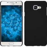 Hardcase für Samsung Galaxy A3 (2016) A310 gummiert schwarz