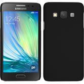 Hardcase Galaxy A3 (A300) gummiert schwarz
