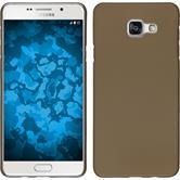 Hardcase Galaxy A5 (2016) A510 gummiert gold