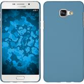 Hardcase für Samsung Galaxy A5 (2016) A510 gummiert hellblau