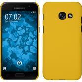 Hardcase Galaxy A5 2017 gummiert gelb
