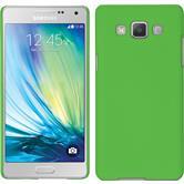 Hardcase für Samsung Galaxy A5 (A500) gummiert grün
