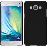 Hardcase für Samsung Galaxy A5 (A500) gummiert schwarz