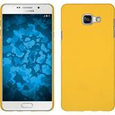 Hardcase Galaxy A7 (2016) A710 gummiert gelb