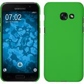 Hardcase Galaxy A7 (2017) rubberized green