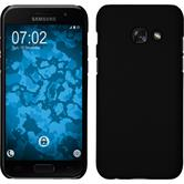 Hardcase Galaxy A7 (2017) rubberized black