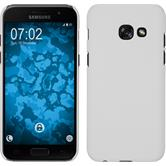 Hardcase Galaxy A7 (2017) rubberized white