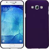 Hardcase Galaxy A8 gummiert lila