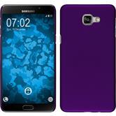 Hardcase Galaxy A9 gummiert lila