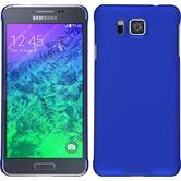 Hardcase Galaxy Alpha gummiert blau