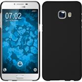 Hardcase für Samsung Galaxy C5 gummiert schwarz
