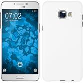 Hardcase Galaxy C5 gummiert weiß + 2 Schutzfolien