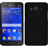 Hardcase Galaxy Core 2 gummiert schwarz