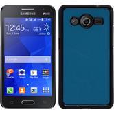 Hardcase Galaxy Core 2 Lederoptik blau