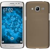 Hardcase Galaxy J2 (2016) (J210) gummiert gold Case
