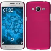 Hardcase Galaxy J2 (2016) (J210) gummiert pink Case