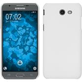 Hardcase Galaxy J3 Emerge gummiert weiß + 2 Schutzfolien