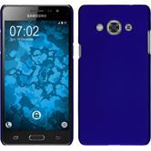 Hardcase Galaxy J3 Pro gummiert blau
