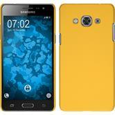 Hardcase Galaxy J3 Pro gummiert gelb