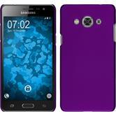 Hardcase Galaxy J3 Pro gummiert lila Case