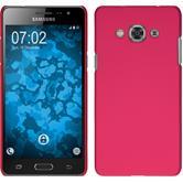 Hardcase Galaxy J3 Pro gummiert pink