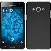 Hardcase Galaxy J3 Pro gummiert schwarz