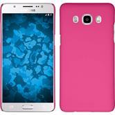 Hardcase für Samsung Galaxy J5 (2016) J510 gummiert pink