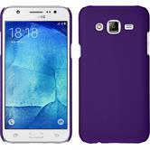 Hardcase Galaxy J7 gummiert lila
