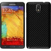 Hardcase Galaxy Note 3 Carbonoptik schwarz