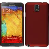 Hardcase for Samsung Galaxy Note 3 rubberized red