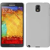 Hardcase for Samsung Galaxy Note 3 rubberized white