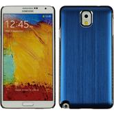 Hardcase für Samsung Galaxy Note 3 Metallic blau