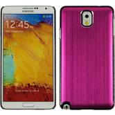 Hardcase for Samsung Galaxy Note 3 metallic hot pink