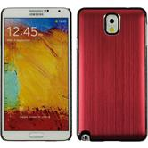 Hardcase for Samsung Galaxy Note 3 metallic red