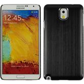 Hardcase Galaxy Note 3 Metallic schwarz