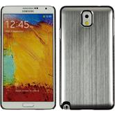 Hardcase for Samsung Galaxy Note 3 metallic silver
