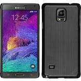 Hardcase Galaxy Note 4 Metallic silber